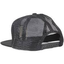 bureau hat the bureau black snapback coal caps hatstore co uk