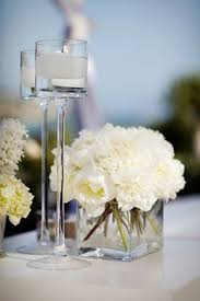 White Hydrangea Centerpiece by Examples Of The Feeling I Like In Centerpieces If Not Necessarily