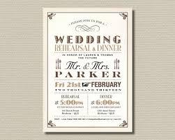 Rehearsal Dinner Invitations Wording Wedding Invitation Dinner Wording Wedding Invitation