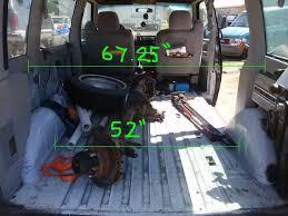 Toyota Hiace Van Interior Dimensions Toyota Previa Campervan Surf Bus Day Van Mini Camper Van
