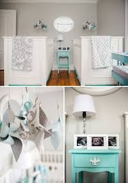 gray and aqua twins nursery paint color gray owl by benjamin