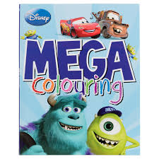 mega colouring books disney pixar kids arts u0026 crafts books
