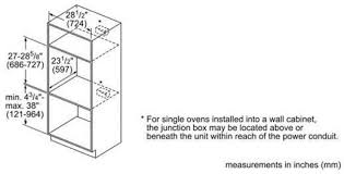 electrical wiring wall oven junction box location yondo tech