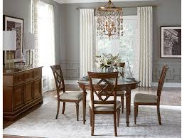 legacy classic furniture dining room round dining table 6070 521