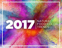 color trends for 2017 2017 natural foodcolor trends sensient food colors sensient food