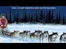The Great Serum Race read aloud Iditarod Pinterest