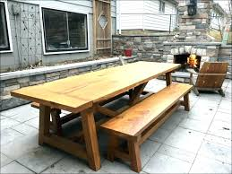 outdoor dining table plans outdoor wood table round dining table with light porcelain top large