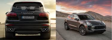 macan porsche 2017 go off road with the 2017 porsche suvs the macan and the cayenne