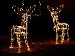 decorations christmas light reindeer christmas decorating then