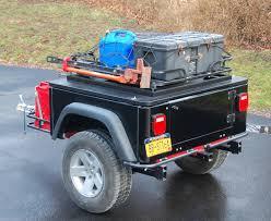 jeep wrangler cargo trailer tventuring on repurposing a hf atv cargo carrier in