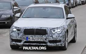 kereta bmw 5 series spyshots f20 bmw 1 series lci spotted again