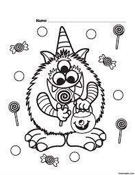 halloween printableen coloring pages color sheets des