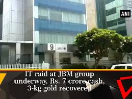 jbm bureau i t dept continues raid against jbm recovers one crore