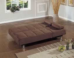 Contemporary Microfiber Sofa Microfiber Contemporary Sofa Bed Convertible Lounger