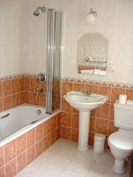 small hotel bathroom bathroom design decor blue white bathtub