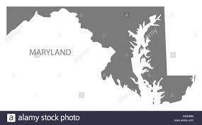 Maryland Map Maryland State Map Stock Photos U0026 Maryland State Map Stock Images