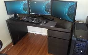 large corner desk custom corner desk incredible homemade computer desk ideas best
