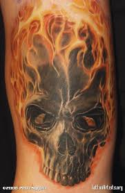 awesome flames not a skull person but the flames are amazing