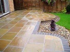 interesting indian sandstone paving natural stone patio flags