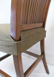 How To Upholster Dining Room Chairs by Seat Cover For Dining Chair Clean Simple Wrap Around Design That