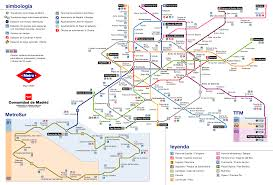 Madrid Map Mapa Metro Madrid U2013 World Map Weltkarte Peta Dunia Mapa Del