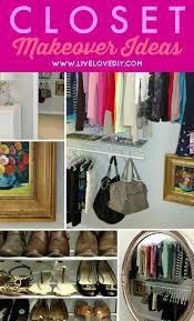 closet makeovers livelovediy the 50 closet makeover
