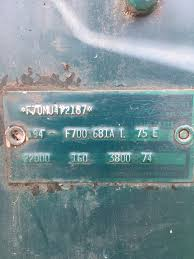 Vintage Ford Truck Vin Decoder - f700 vin decode ford truck enthusiasts forums