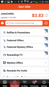 earn gift cards junowallet earn gift cards now 7 9 21 apk android