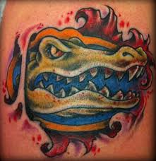 the shape of a florida gator tattoo pictures to pin on pinterest