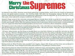 cd album the supremes merry expanded edition
