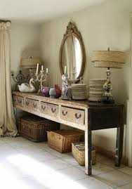 French Country Shabby Chic by Dining Room White Grey Black Chippy Shabby Chic Whitewashed
