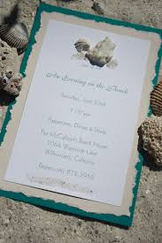 Beach Theme Wedding Invitations Beach Themed Invites Beach Themed Wedding Invites Invite Card