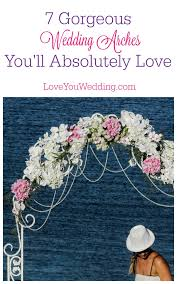 Wedding Trellis Flowers 7 Gorgeous Wedding Arches For Both Indoor U0026 Outdoor Weddings