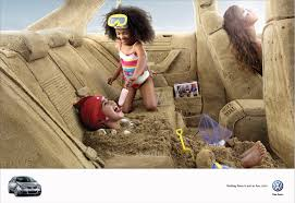 volkswagen jetta ads volkswagen print advert by ogilvy a trip to the beach ads of