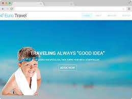 responsive travel agency html5 bootstrap template