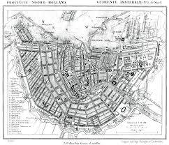 Map Of Amsterdam Haringman History