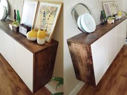 Ikea Kitchen Cabinet Hacks Toolsandrags Akurum Floating Credenza Ikea Hack I Love Ikea