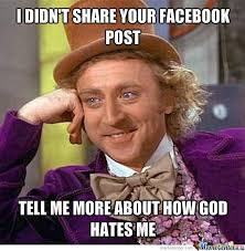 Facebook Post Meme - annoying facebook post by ocvinny meme center