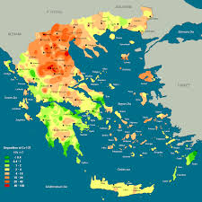 Greek Map Map Of Greece You Can See A Map Of Many Places On The List On