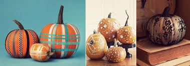 Halloween Pumpkin Decorating Ideas Round Up Halloween Pumpkin Carving And Decorating Ideas Atelier