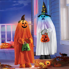 amazon com lighted halloween character decorations ghost