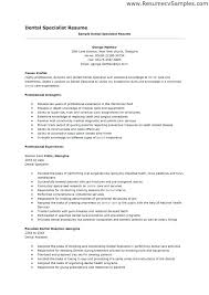resume exles for dental assistant dental assistant resume objectives aiditan me