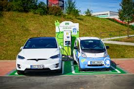 how to lease a car in europe abb fast charging station for electric vehicles launched at a lidl
