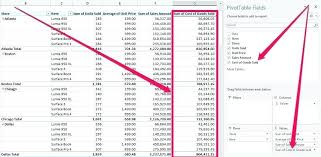 pivot tables and vlookups in excel pivot tables and vlookups in excel after adding calculated field