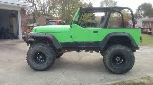 jeep wrangler jacked up jacked up jeep wrangler yj 302 v8 youtube