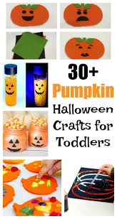 33 pumpkin halloween crafts for toddlers