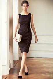 knee length lace cocktail dress formal dinner dress for