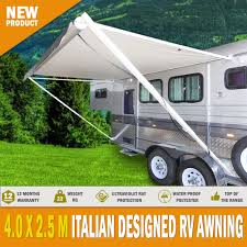 Rv Awnings Australia New Caravan Awning Roll Out 3 5m X 2 5m Italian Designed Aluminium