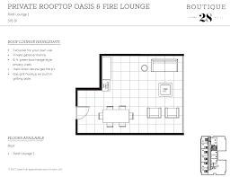Floor Plan With Roof Plan by Rooftop Deck Floor Plans Best Roof 2017