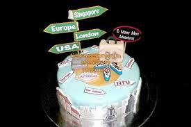 travel theme cake for traveller noida online cake delivery noida